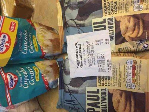paul hollywood cookie mix 20p lemon drizzle 20p @ Sainsbury's