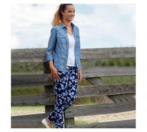Cherokee Women's Blue Chambray Shirt (Size 14) - £2.80 / (Size 10,12,16) - £3.50 @ Argos (C&C)