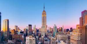 New York For 4 Nights, Including Hotel & Flights With United Direct From Glasgow £625 P/Person (£670 For 5 nights) @ 5Pm