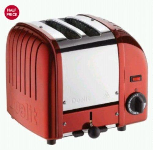 Dualit 2 slot classic toaster- waitrosekitchen.com £45