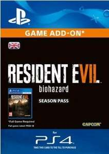 Resident Evil 7 - Season Pass DLC - PS4 £21.99 @ CDKeys