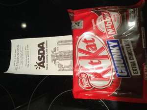 Kit Kat chunky 4 pack in Asda 50p