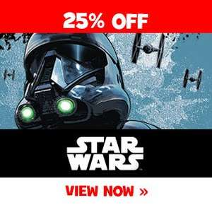 25% off selected Star Wars / Moana / Frozen toys @ toysrus (some discounted more) - Includes quadcopters!