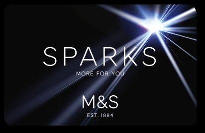 FREE £10.00 Marks and Spencer Sparks Bonus Voucher check you email