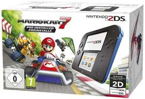 Nintendo 2DS (Blue) + Mario Kart 7 £65.99 @ Amazon.fr