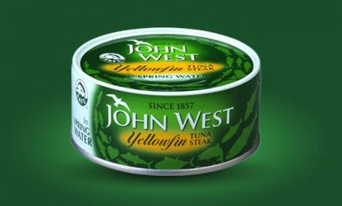 John West Yellowfin Tuna Steak in Spring Water 160g £1.00 @ Poundland