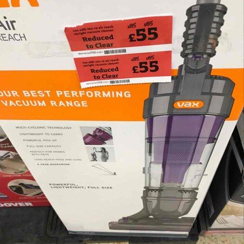 vax air reach - £55 instore @ Sainsbury's