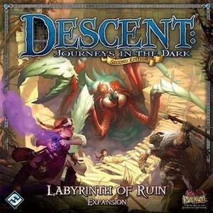 Hard to acquire Descent Expansion - Labyrinth of Ruin - £34.08 delivered -   Book Depository