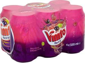 Vimto Fizzy Drink 6 x 330ml -  2 for £3 @ Iceland (Online and Instore)