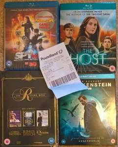 3D BluRays for ....... you guessed it ..... at poundland - £1
