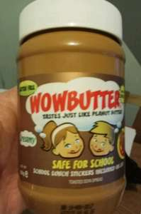Wowbutter Allergy Friendly 'Peanut Butter' - £1.62 - Tesco