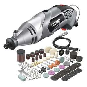 Ozito rotary tool with tools for £21.74 @ Homebase/ Bunnings.