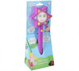Ben and Holly Magic Wand was £12.99 Free c&c @Argos