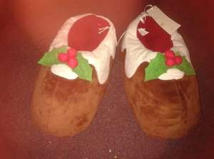 Xmas Slippers 4p instore @ Tesco