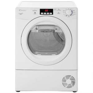 Candy Grand'O Vita GVHD913A2 Heat Pump Tumble Dryer - White £339 Using Code HURRY30 @AO.COM