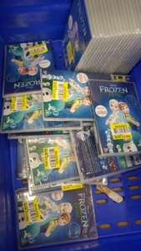Frozen Fever DVD 5p each instore at Tesco