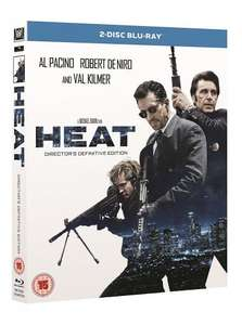 [Pre-Order] Heat (Remastered) 2-Disc Definitive Edition [Blu-ray] £6 in 5 for £30 / £8.99 on its own / £10.99 incl del @ Hmv (free Click+Collect / free delivery over £10)