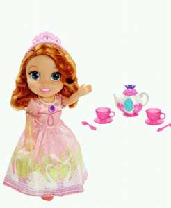 Sofia toddler doll tea set 7.99 delivered argos ebay