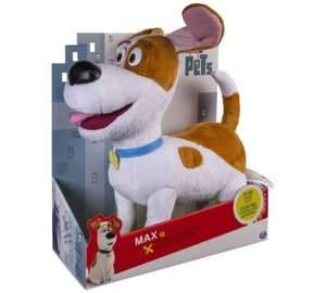 Secret Life Of Pets Talking Plush Buddy - was £22.99 now £11.99 @ Argos (C&C)