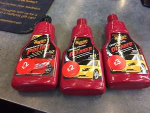 Meguiars car polish £2 instore at Halfords (Whitecity, Manchester)