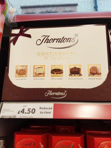 Thornton Continental Chocolate Box £4.50 instore @ Tesco (Birmingham)