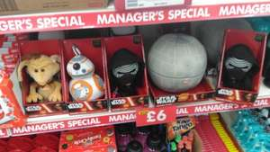 Star Wars Talking Plushes £6 instore at Poundworld