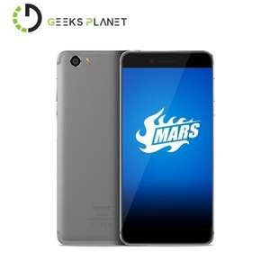 OTA to Android 7.0 Vernee Mars Mobile Phone Helio P10 5.5 inch FHD Screen 4G RAM 32G ROM 13MP Camera 3000mAh 4G LTE Smartphone - £134 @ Ali Express