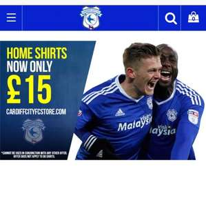 Cardiff city home shirts 16/17 season - £15
