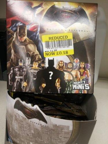 Batman v Superman mighty minis 18p instore @ Tesco Wishaw
