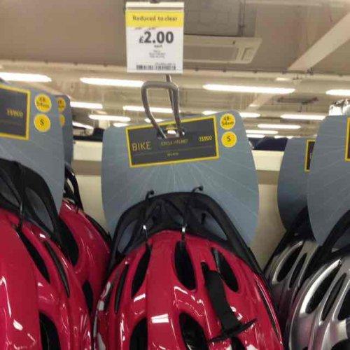 Bike Helmets from £2.00 instore @ Tesco Hull