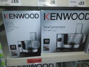 kenwood mini food processor fp126 - £17.50 instore @ Sainsbury's Hedge End