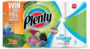 Plenty fun prints kitchen towels (Pack of 8) was £6.45 now £4.00 @ Tesco