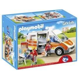 Playmobil 6685 City Life Children's Hospital Ambulance - Tesco Direct - £24.69