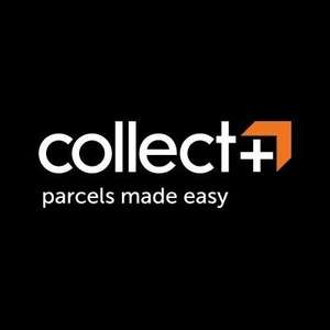 It's back (after 1 year!) - up to 15% discount on CollectPlus & 10.35% cashback on top - heavy parcel 5-10 kgs normally £8.39 for £6.39 ('new' customers) - c/b via TCB