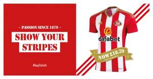 Sunderland top 2016 -2017 £18.79 adults and kids @ Sunderland Football Club