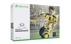 Xbox One S 1TB FIFA 17 Bundle - FREE Delivery - Microsoft Store (Finland) - £215