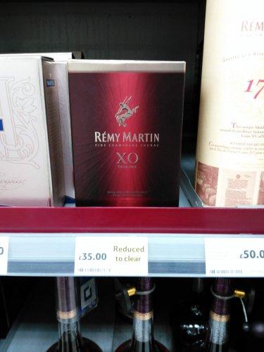 Rémy Martin XO Fine Champagne Cognac, 70 cl - £35 instore @ Tesco