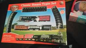 Steam Train Set £2.99 instore @ B&M
