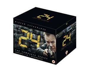 24 - Season 1-8 and Redemption [DVD] £22.62 @ Amazon