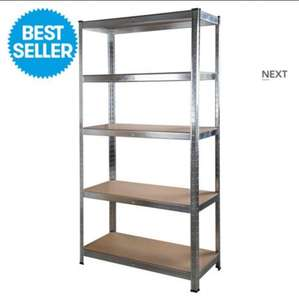 5 Tier metal shelving rack £17.99 @ JTF warehouse (was £59.99)