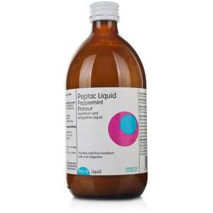 Using Gaviscon? Indigestion/heartburn/reflux? Use almost identical Peptac at less than half the price £2.99 500ml at Weldricks (60 northern branches: free click and collect). Or just pick up a bottle at your local chemist for much the same price.