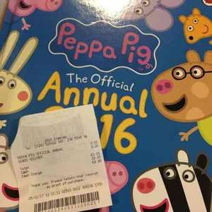 Peppa Pig Annual - 2016 - 1p - WH Smith's