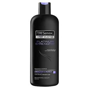 Tresemme Platinum Strength / Full Volume /Keratin Shampoos & Conditioners  2 For £4.00 [ £5 each] @ Tesco