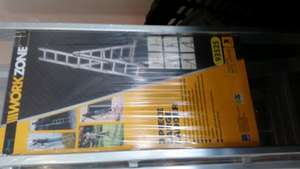 Aldi Workzone 3 section ladders £27.49