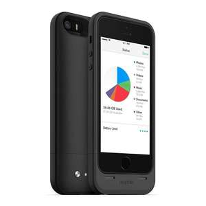 Black Mophie Space Pack 64GB (iPhone 5/5s/SE) Black £28.06 Sold by total digital stores and Fulfilled by Amazon