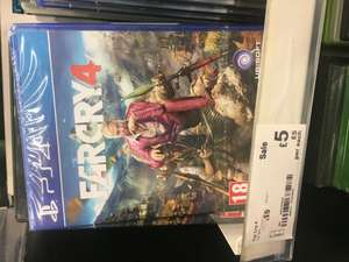 Far Cry 4 PS4 £5 @ Asda