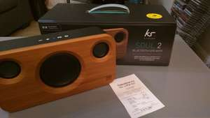 KitSound Soul 2 Bluetooth Speaker from Sainsbury's Wellingborough (maybe some left in Milton Keynes store too) for £55 reduced from £155