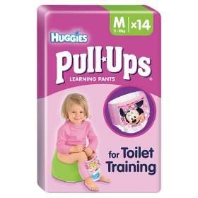Huggies Pull Ups potty training for £2 down from £4.97 (from 12.5p/small,14.3p/medium and 16.7p/large) @ Morrisons