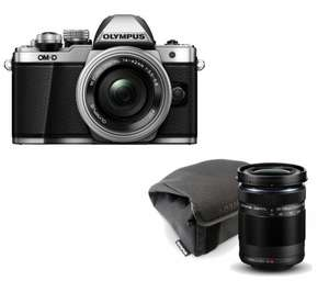 Olympus M10 Mark II with 14-42 + 40-150 lens kit - £569.00 @ Currys