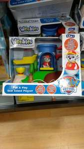 Paw Patrol Weebles Pull and Play Seal Island - £7 instore @ ASDA